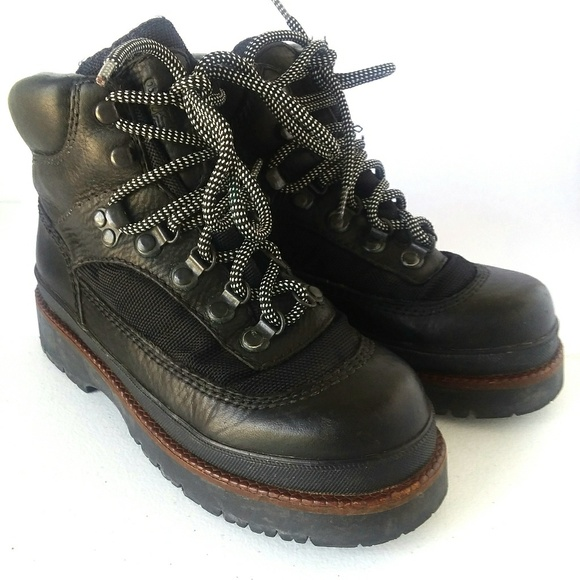 Vintage Nine West Sport Black Leather